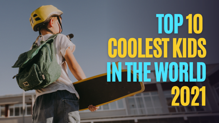 Top 10 Coolest Kids In The World
