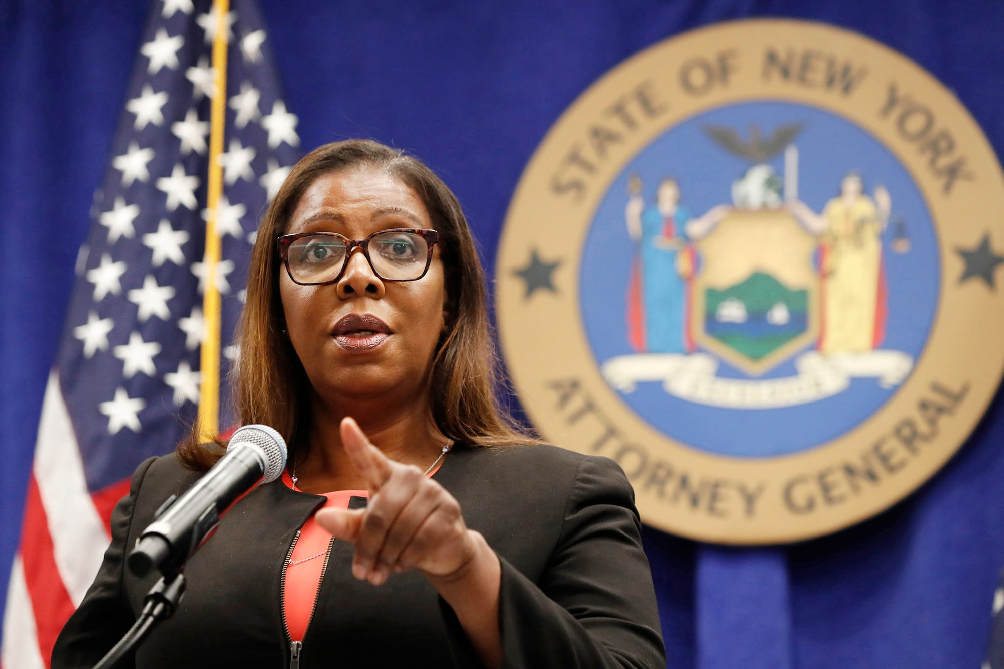 Attorney Letitia James