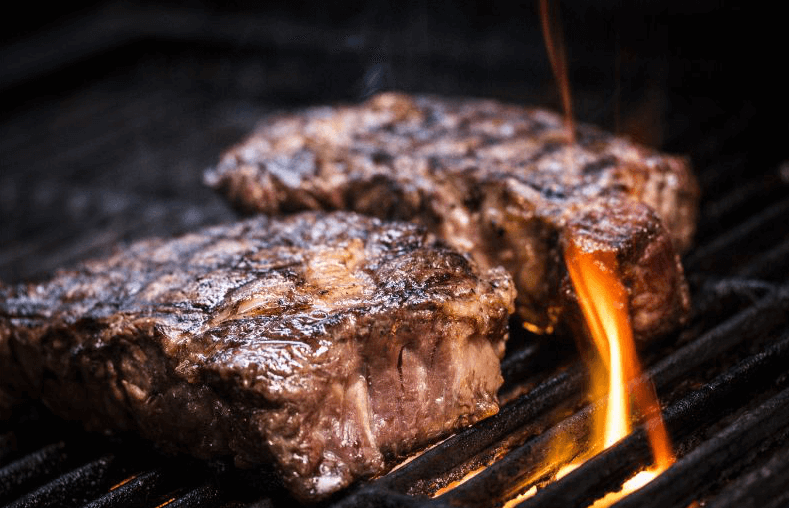 Meats that have been Heavily Charred
